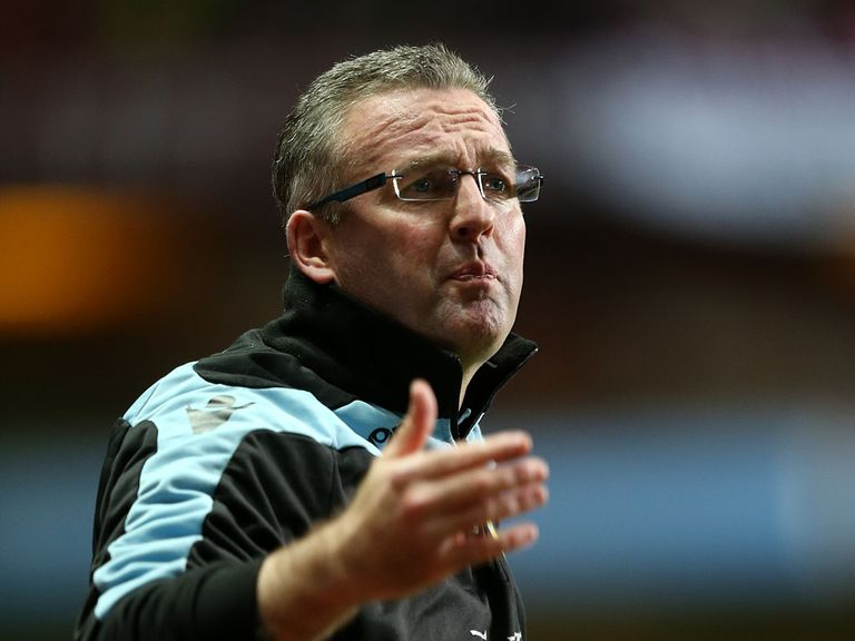Lambert: Saw his side get thrashed by Spurs