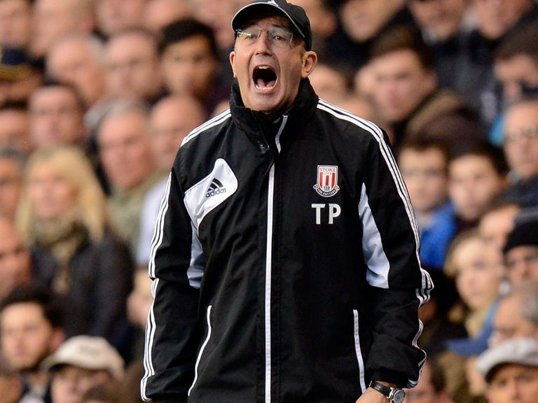 Tony Pulis will name a strong Stoke side