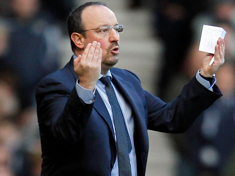 Benitez: Still hopeful of qualification