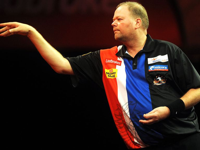 Van Barneveld: Will play Gary Anderson in the last 16