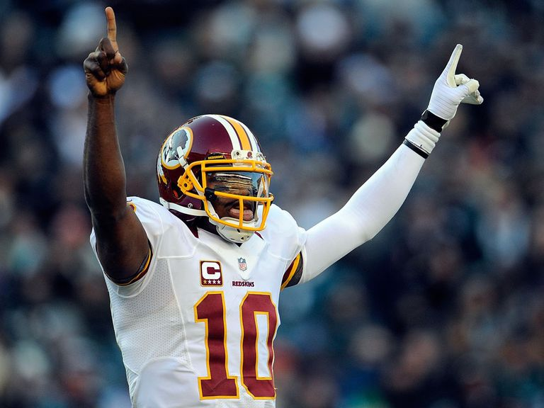 Robert Griffin III: Helped Washington Redskins to victory