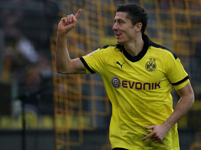 Robert Lewandowski: Looks set to leave Borussia Dortmund