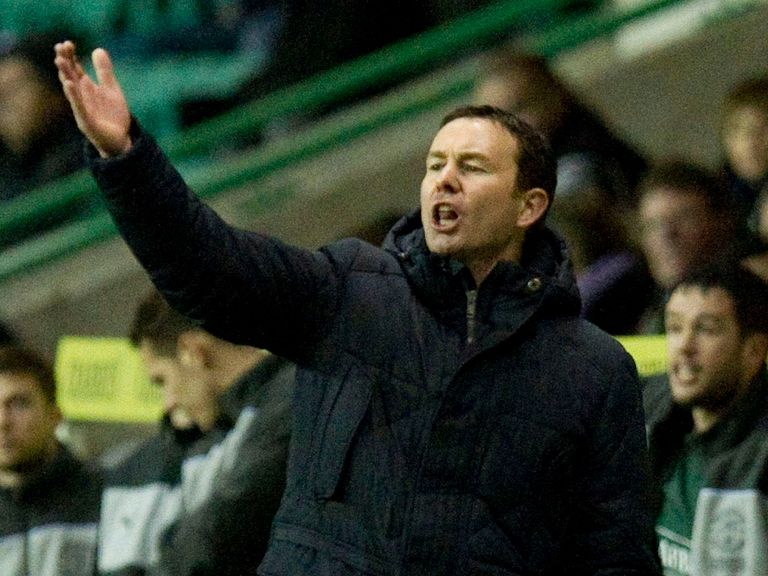 Derek Adams: Looking to build on victory over Hibs