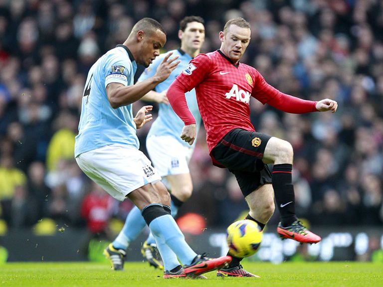 Manchester United beat Manchester City 3-2.