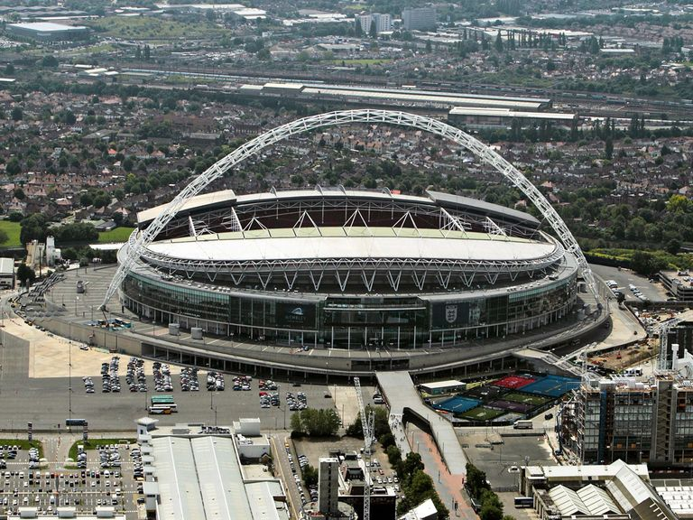 Wembley Stadium: Will host six NFL matches in 2014