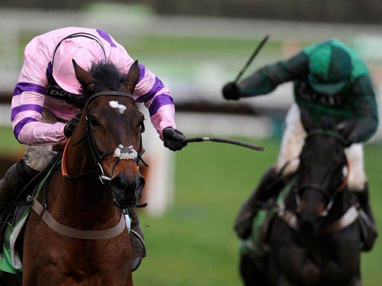 Zarkandar holds off Grandouet to win at Cheltenham
