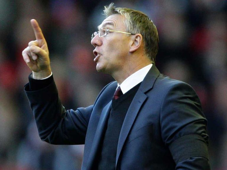 Nigel Adkins: Not looking for a goalkeeper