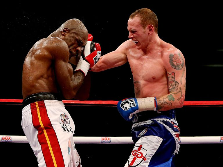 George Groves: Feels he sent out a message