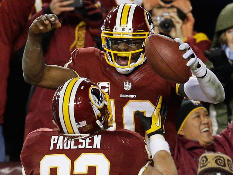 Robert Griffin III: Injured in playoff defeat