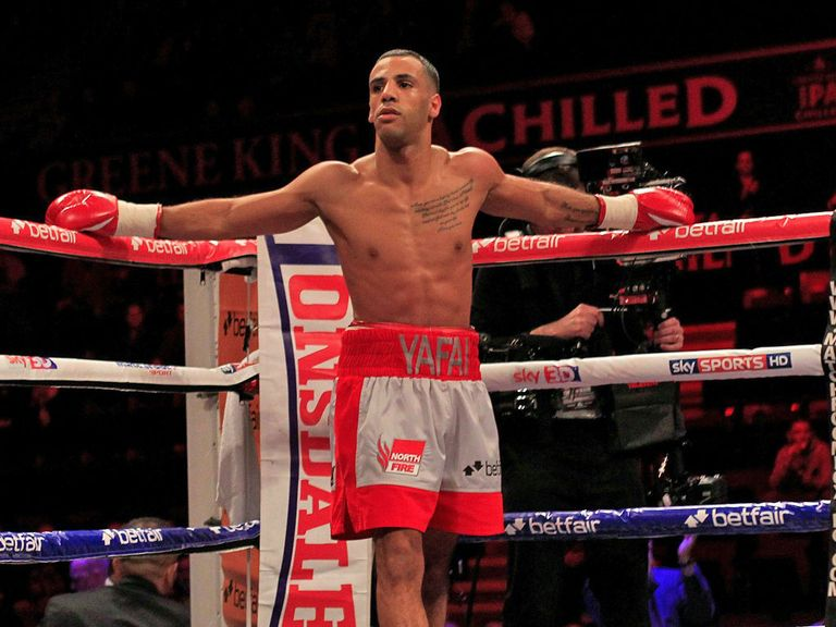 Kal Yafai: The headline act for 'Kal and Prizefighters' on January 19 (Pic Lawrence Lustig)