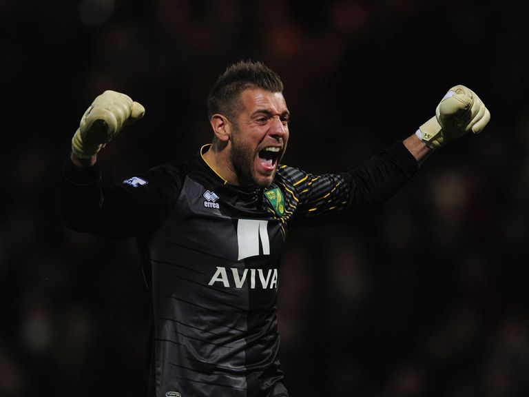 Mark Bunn: Wants no let-up at Norwich