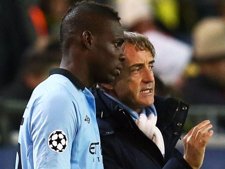 Mario Balotelli: Offered support to Roberto Mancini