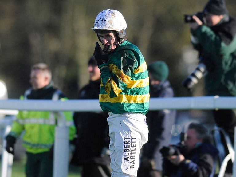 A P McCoy: Partnered Tap Night, the first leg of his treble