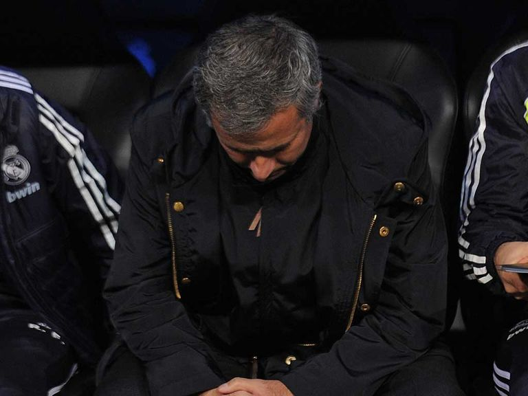 Jose Mourinho's men drew with Espanyol