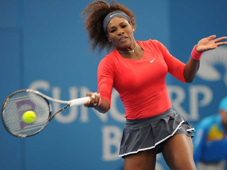 Serena Williams: Has won 33 of her last 34 matches