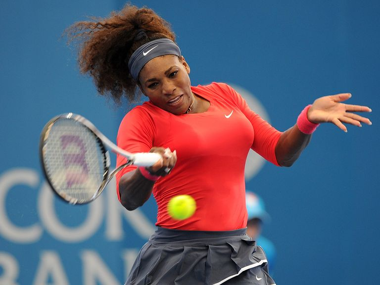 Serena Williams: Starts season with victory