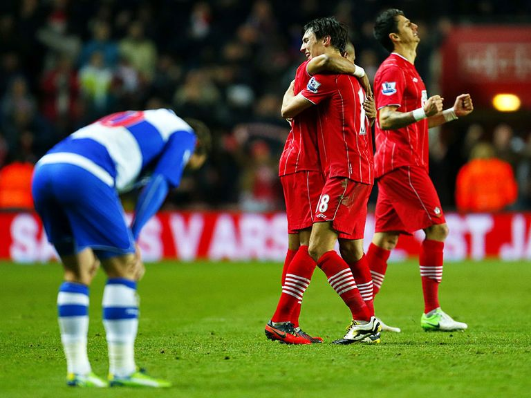 Southampton condemned Reading to another defeat