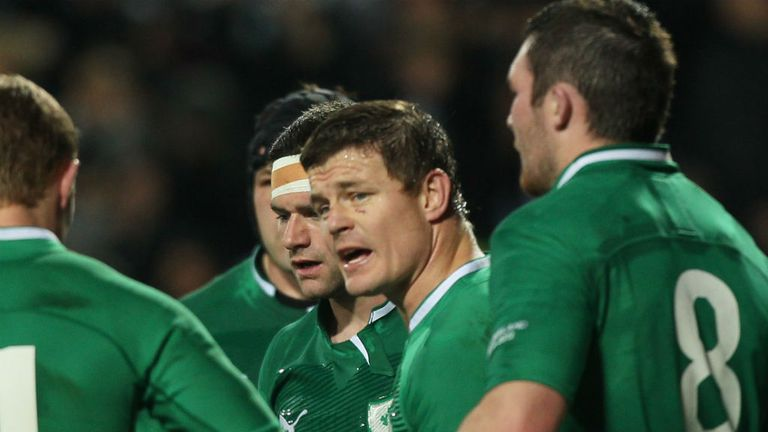 Ireland star Brian O'Driscoll may be approaching his last Six Nations