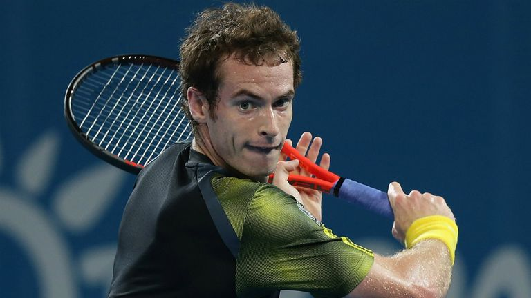 Andy Murray: defending his Brisbane International title this week