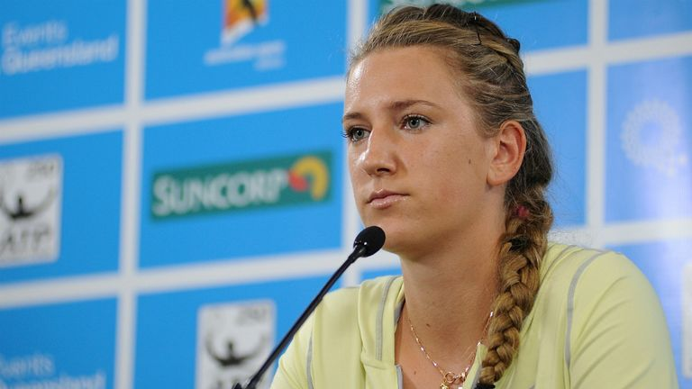 Victoria Azarenka: Brisbane International cut short by toe injury