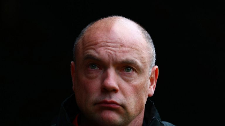 Uwe Rosler: Happy with his midfield