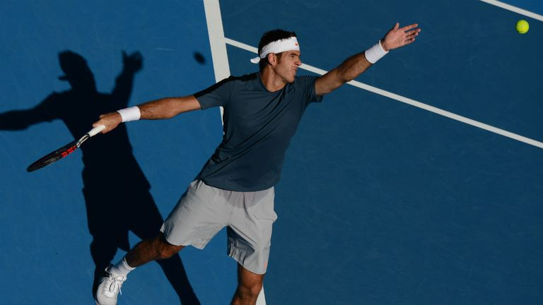 Juan Martin del Potro: Dropped just five games en route to victory