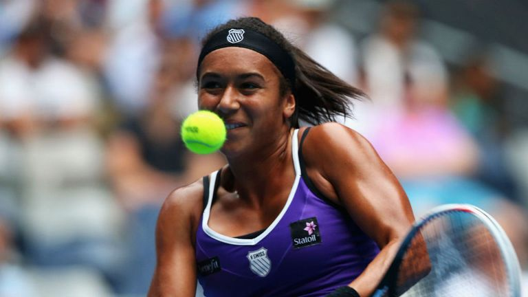 Heather Watson: Helped GB to Fed Cup win