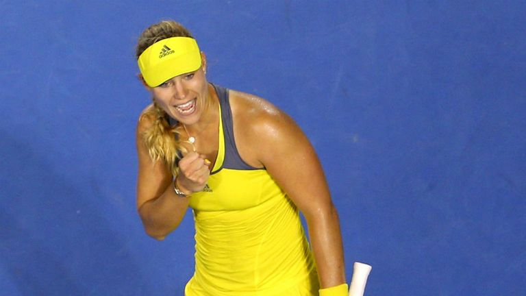 Angelique Kerber: Edged out rising star Madison Keys