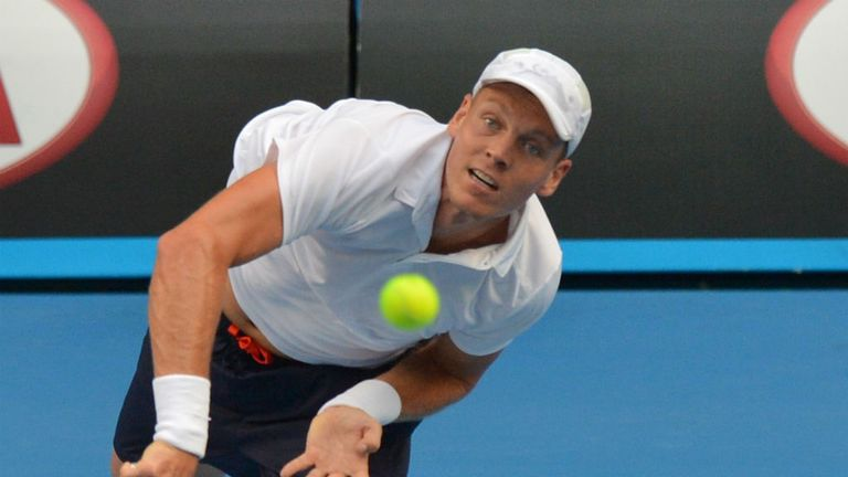 Tomas Berdych: Has yet to drop a set in Melbourne