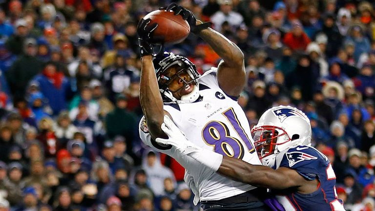 Anquan Boldin: Two touchdown catches for Baltimore