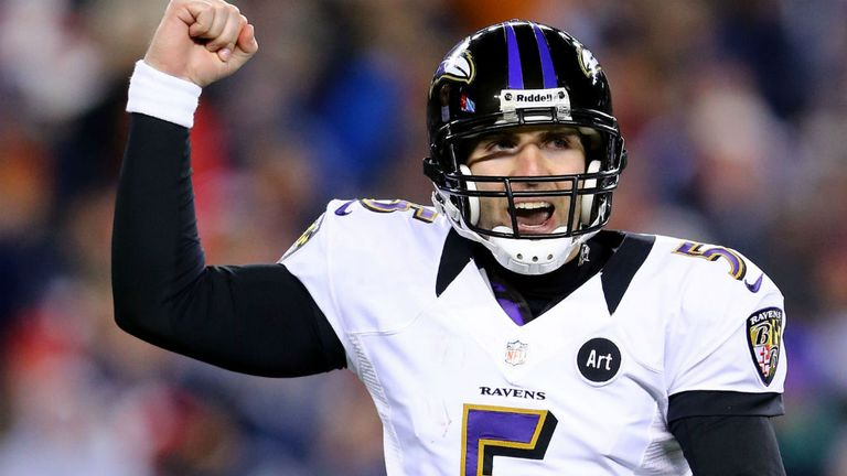 Joe Flacco wants to get back to the Super Bowl
