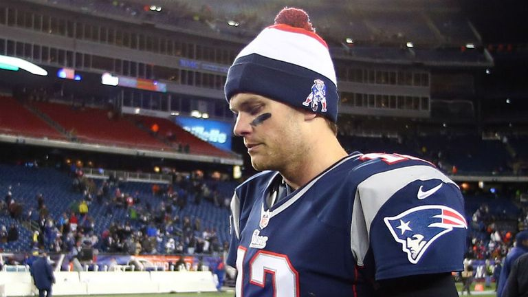 Tom Brady: Down after defeat by Baltimore