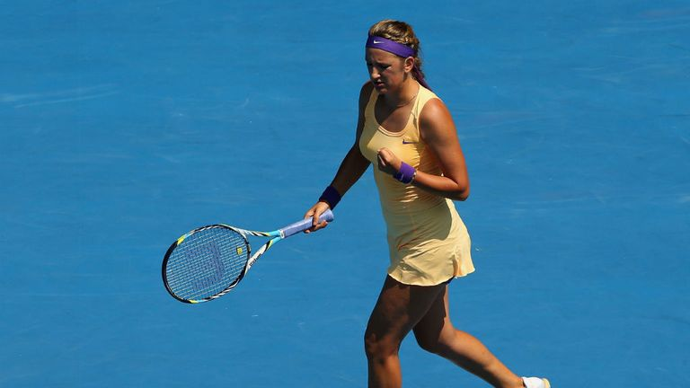 Victoria Azarenka: Dropped just two games en route to victory
