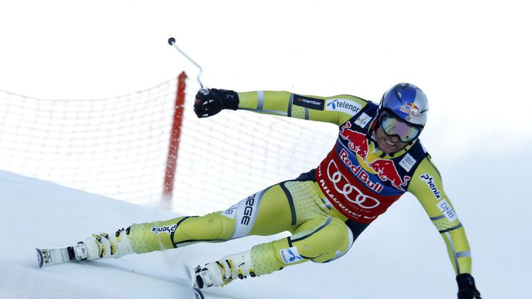 Aksel Lund Svindal: won the men's World Cup super-G on Friday