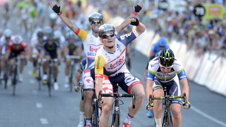Andre Greipel: Proved the man to beat in the sprints once again