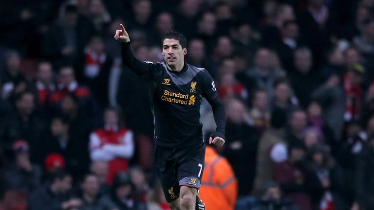 Luis Suarez: Striker feels Liverpool can push for a top-four finish