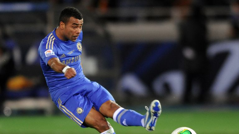 Ashley Cole: Limped off duing the 1-0 win over Manchester United at Stamford Bridge
