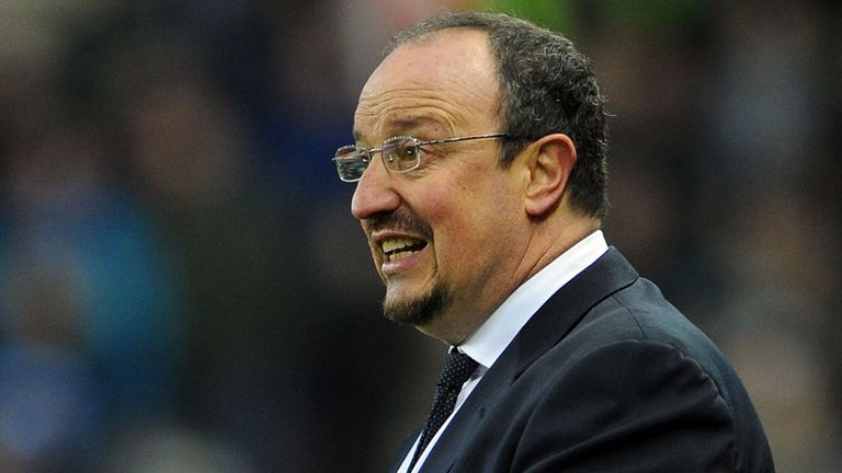 Rafa Benitez: Barclays Manager of the Month for April