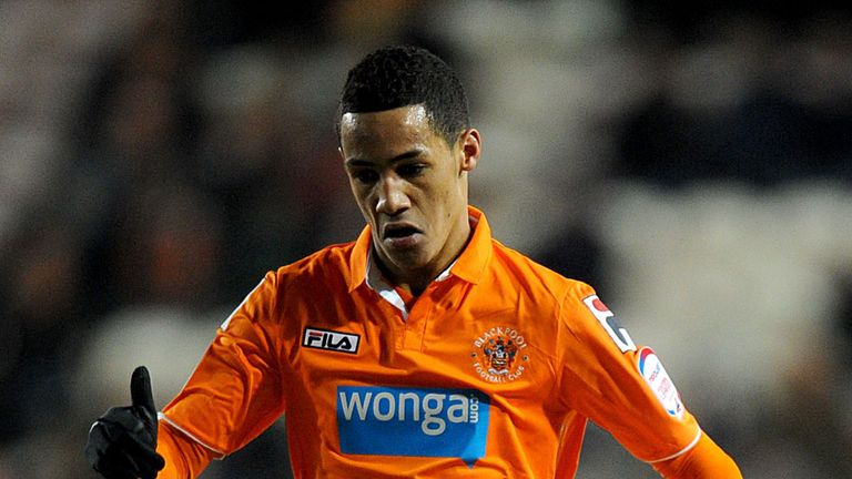 Tom Ince: Netted equaliser as Blackpool came from behind to beat Watford