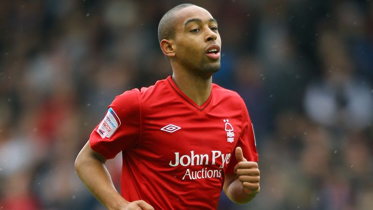 Dexter Blackstock: Striker on target for Forest