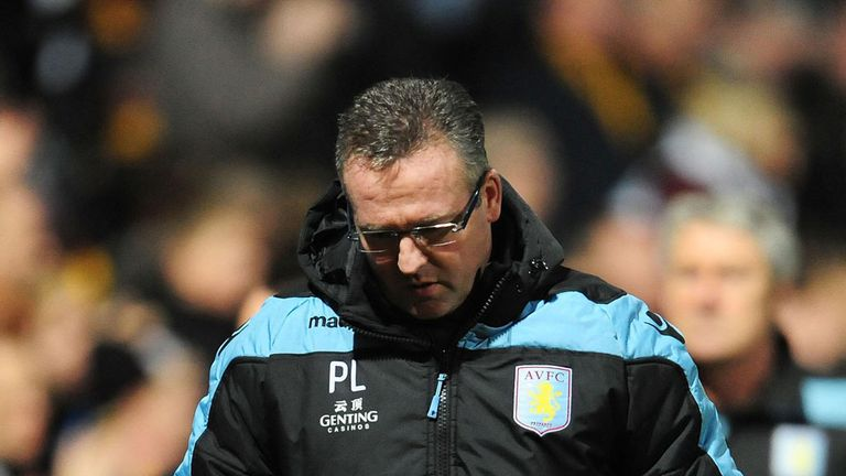 Paul Lambert: Plenty to think about with Aston Villa facing up to a relegation battle