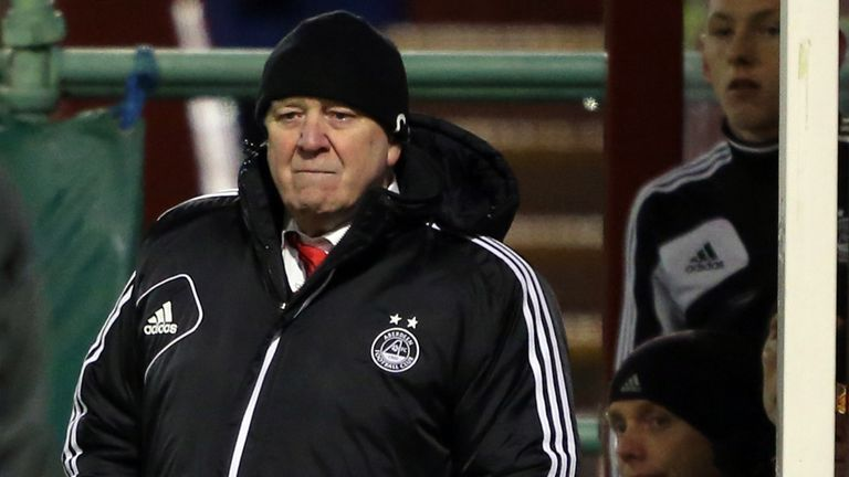 Craig Brown: Admitted Aberdeen were fortunate on Friday night