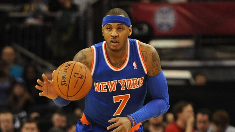 Carmelo Anthony: Enjoyed another memorable trip to London
