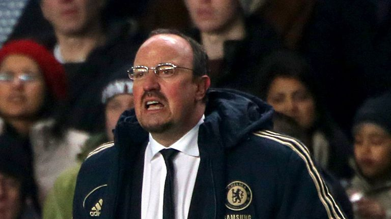 Rafael Benitez: Insists players are staying professional