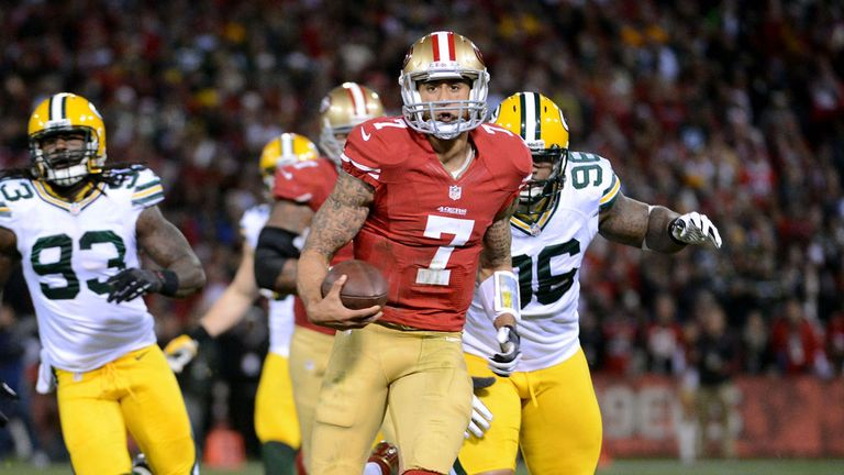 Kaepernick: Has led the 49ers' charge in recent weeks