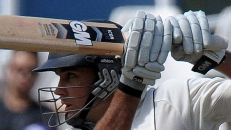 Brownlie: Fired a fluent 69 not out in New Zealand's second innings