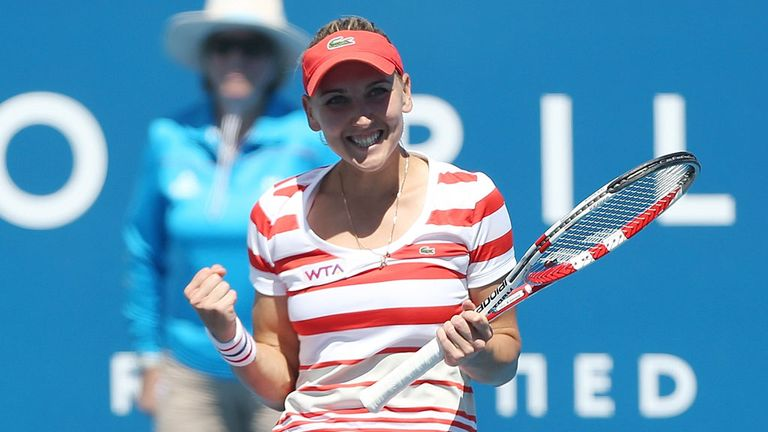 Unseeded Russian Elena Vesnina beat Sloane Stephens 6-2 6-2 on Friday