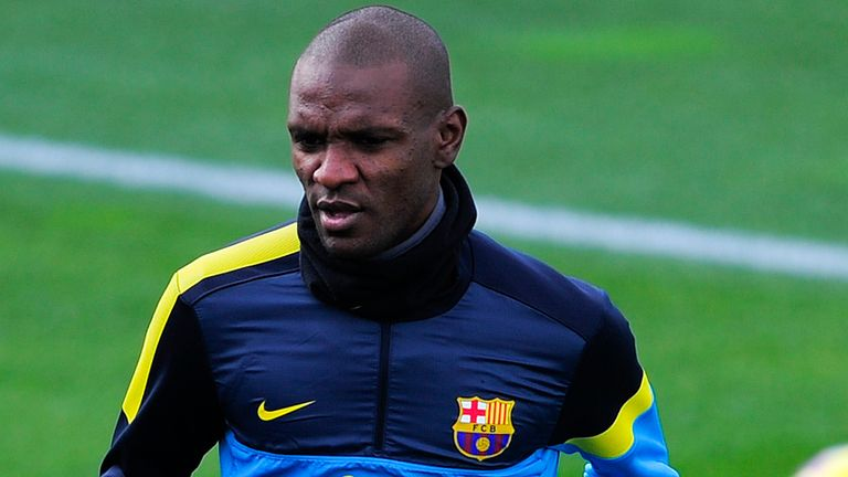Eric Abidal: Former Barcelona defender has joined Monaco