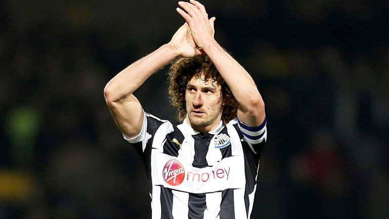 Fabricio Coloccini: Newcastle captain is back in training after injury