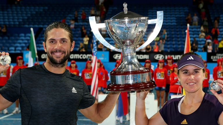 Fernando Verdasco and Anabel Medina Garrigues win the Hopman Cup for Spain